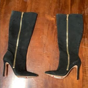 Jessica Simpson black boots